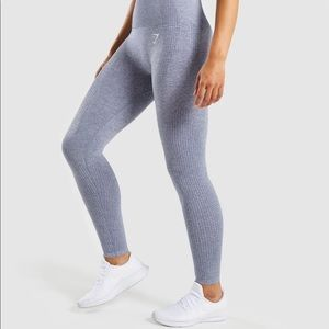 Gymshark Vital Seamless - Steel Blue (Small)